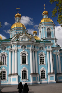 church St Petersburg Russia city-break Baroque architecture Chevakinsky