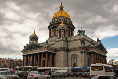 church cathedral St Petersburg Russia city-break architecture Peter Great neoclassical