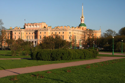 St Petersburg Russia Leningrad City-break engineers castle architecture eclectic