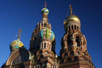 Saviour on Spilled Blood St Petersburg Russia travel city-break