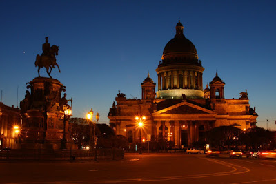 cathedral church St Petersburg Russia city-break architecture Peter Great