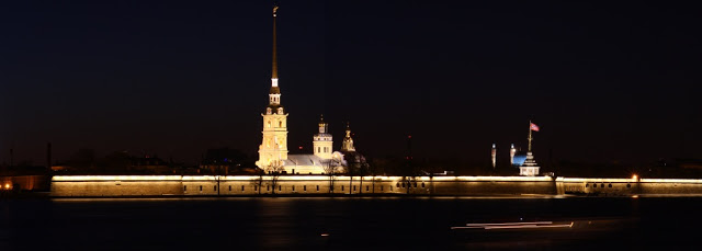 Peter and Paul Russia St Petersburg Leningrad city-break light summer Neva Hare island Trezzini architecture