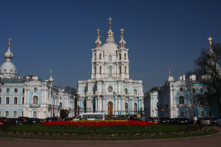 church monastery St Petersburg Russia city-break Baroque Stasov