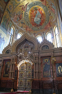 St Petersburg Russia orthodox russian style Savior spilled blood Alexander Christ photography Byzantine mosaic