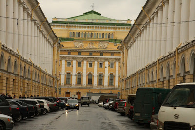 St Petersburg Russia city-break Leningrad architecture pushkin theatre