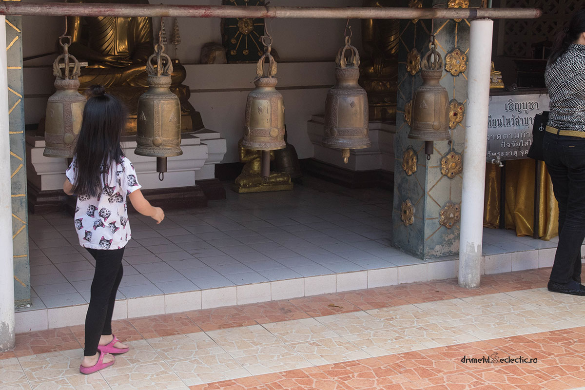 Chiang Mai Doi Suthep temple bells buddhist good luck fortune