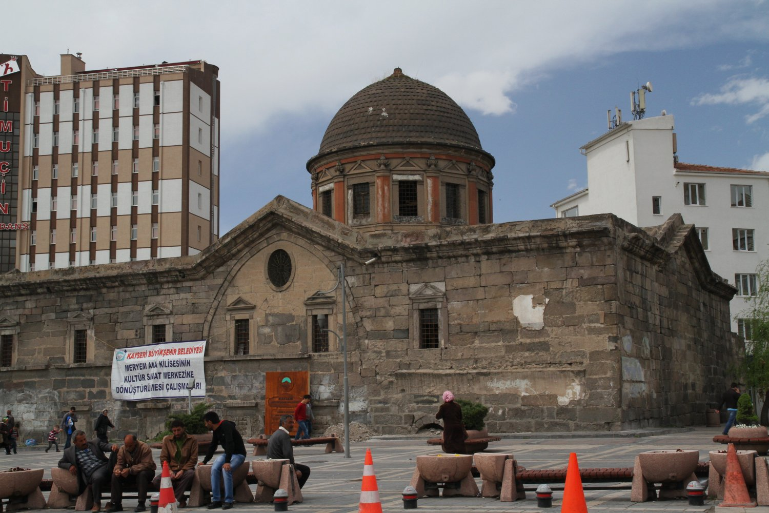 Turcia Kayseri St. Mary Sf. Maria biserica church